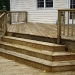 Decorative Deck Stairs