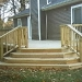 Custom Designed Deck Stairs