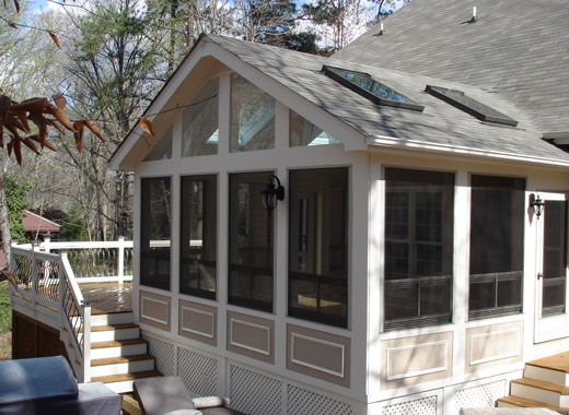 Screened Porches Raleigh Nc Custom Built Screen Porches
